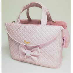 Knot Passenger Bag Rigid Teo Pink