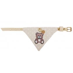 Collare Teddy a Pois 1,2 cm