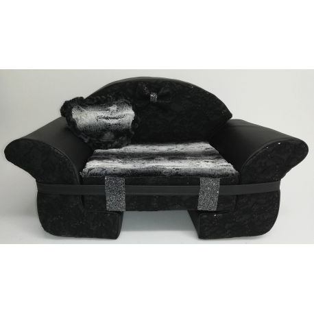 The Sofa Black Lace Payette