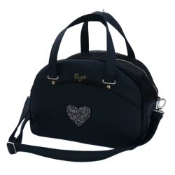Noir cuty bag+ heart