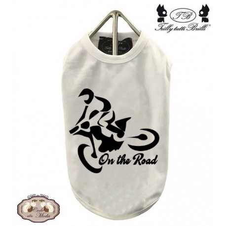 T-Shirt Motorcycling personalizzabile
