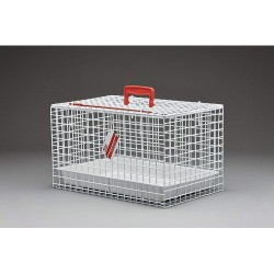TRASPORTINO GABBIETTA CAT CARRYING BASKET WHITE