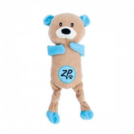 Gioco Zippy Paws Corduroy Cuddlerz - Bear