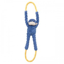 Gioco Zippy Paws Monkey RopeTugz - Blue