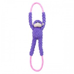 Gioco Zippy Paws Monkey RopeTugz - PGreen