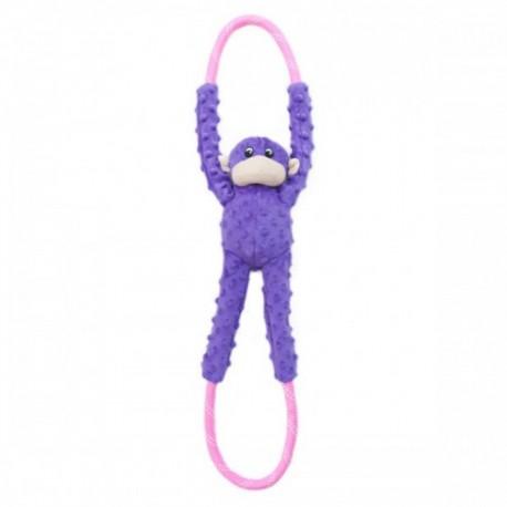 Gioco Zippy Paws Monkey RopeTugz - PGreen