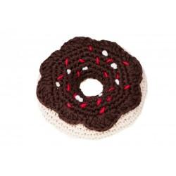 Gioco Crochet DONUT CIOCCOLATO TOY CHOCOLATE DONUT