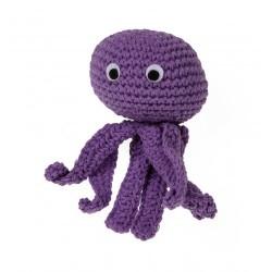 Gioco Crochet POLIPO TOY OCTOPUS
