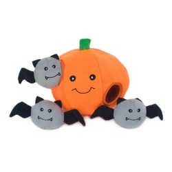 Gioco Zippy Paws Zippy Burrow - Pumpkin