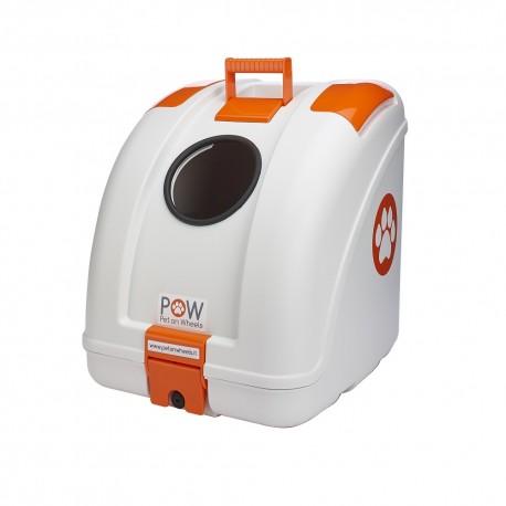 POW all white / orange inserts