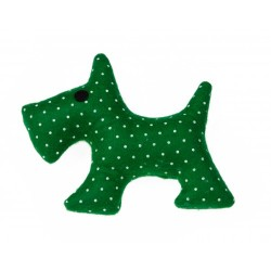GIOCO CAGNOLINO VERDE TOY GREEN DOG