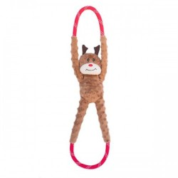 Gioco Zippy Paws HOLIDAY ROPETUGZ - REINDEER
