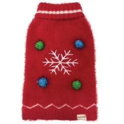 Maglia UGLY CHRISTMAS SWEATER - SNOWFLAKE
