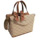 New Matelasse Passenger Bag Rigid Cream Matelasse Passenger