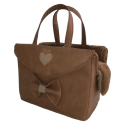 Camel Passenger Bag Rigid+Heart+Knot