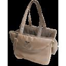 Heart Passenger Bag Rigid Glossy Beige +Taupe