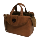Heart Passenger Bag Rigid Camel +camel