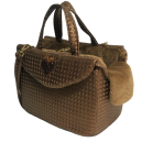 Heart Passenger Bag Rigid Bronzo