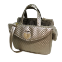 Heart Passenger Bag Rigid J. Taupe