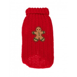 MICHI Maglione Xmas Sweater Gingerbread Red