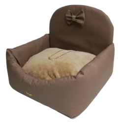 Car Bed Square Taupe