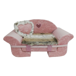 The Sofa Antique Pink lace +Tiger