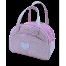 Teo pink cuty bag+ heart