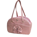 Traveller Bag Antique Pink Bow