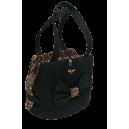 Lace Fair Bag Black +Lace Black+Leopard