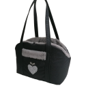 Heart Chic and Sportive Glity Black+Heart