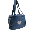 Special Heart Fair Bag Navy Blue-Special