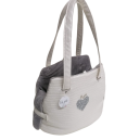 Special Heart Fair Bag Acqua + Grey