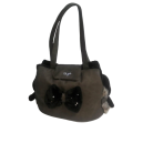 Bow-Swarovski-Bag Taupe