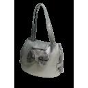 Bow-Swarovski-Bag Ice +grey