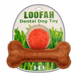 LOOFAH PLAYTIME (L BONE & S BALL SET)