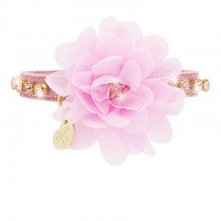DIAMONDS FLOWER COLLAR MAGIC PINK/GOLD