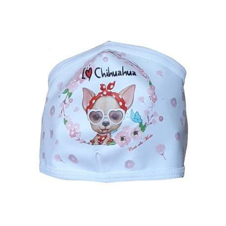 Mascherina Chiuahua Fashion
