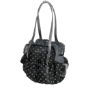 Special Net Carrier Dots Noir-Grey