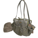 Special Net Carrier Dots Taupe