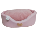 Round Beds Heart Baby Pink
