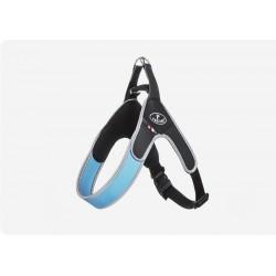 Pettorina Easy Way Regolabile Azzurro Bordo reflex