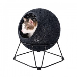 Zentangle Pet Cave Pod – Steel Blue