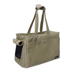 Canvas Pet Tote – Army Green