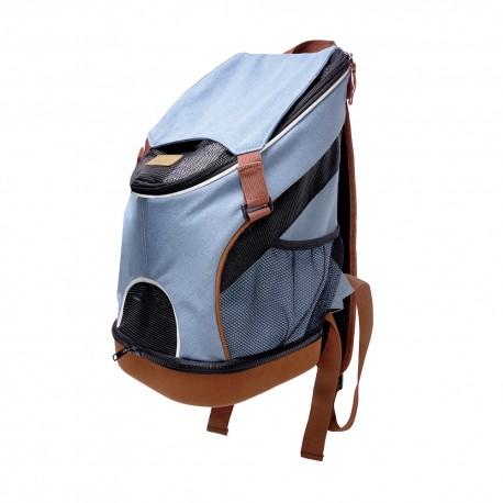 Denim Fun Lightweight Pet Backpack