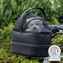 Cesto anteriore per cani per manubrio della bicicletta