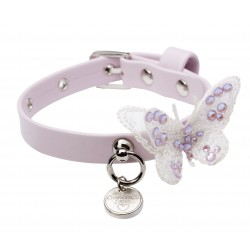 Collare Butterfly in pink