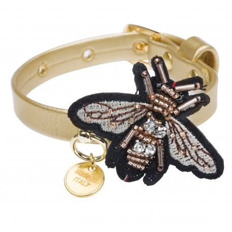 Collare Bee in gold