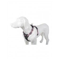 PETTORINA IN NYLON SECUR-FIT CON TRIPLO AGGANCIO LINEA DELUXE