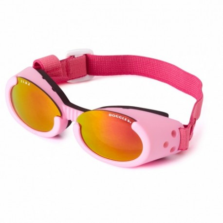 Occhiali DOGGLES ILS PINK FRAME / SUNSET LENS