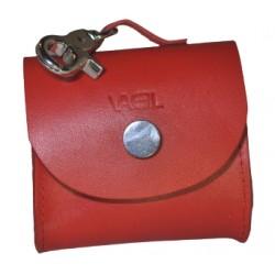 Borsina porta sacchetti Rosso
